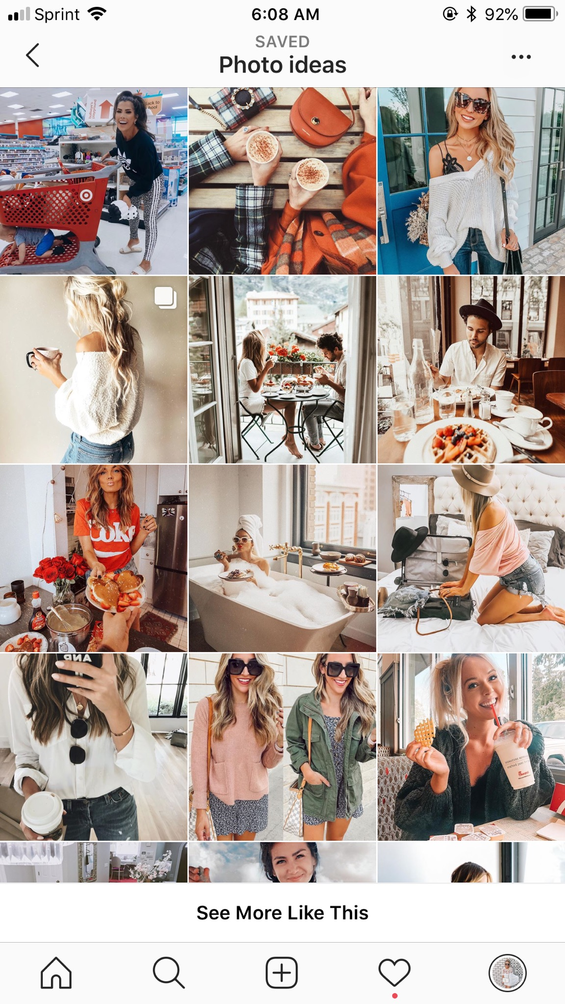 instagram feed- photo ideas