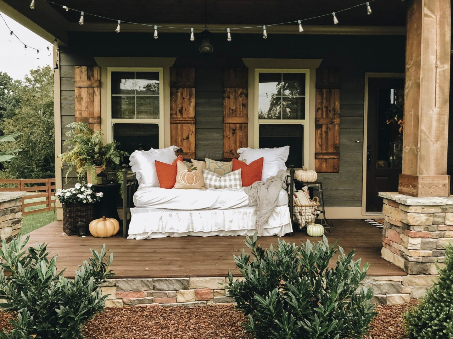 farmhouse front porch
