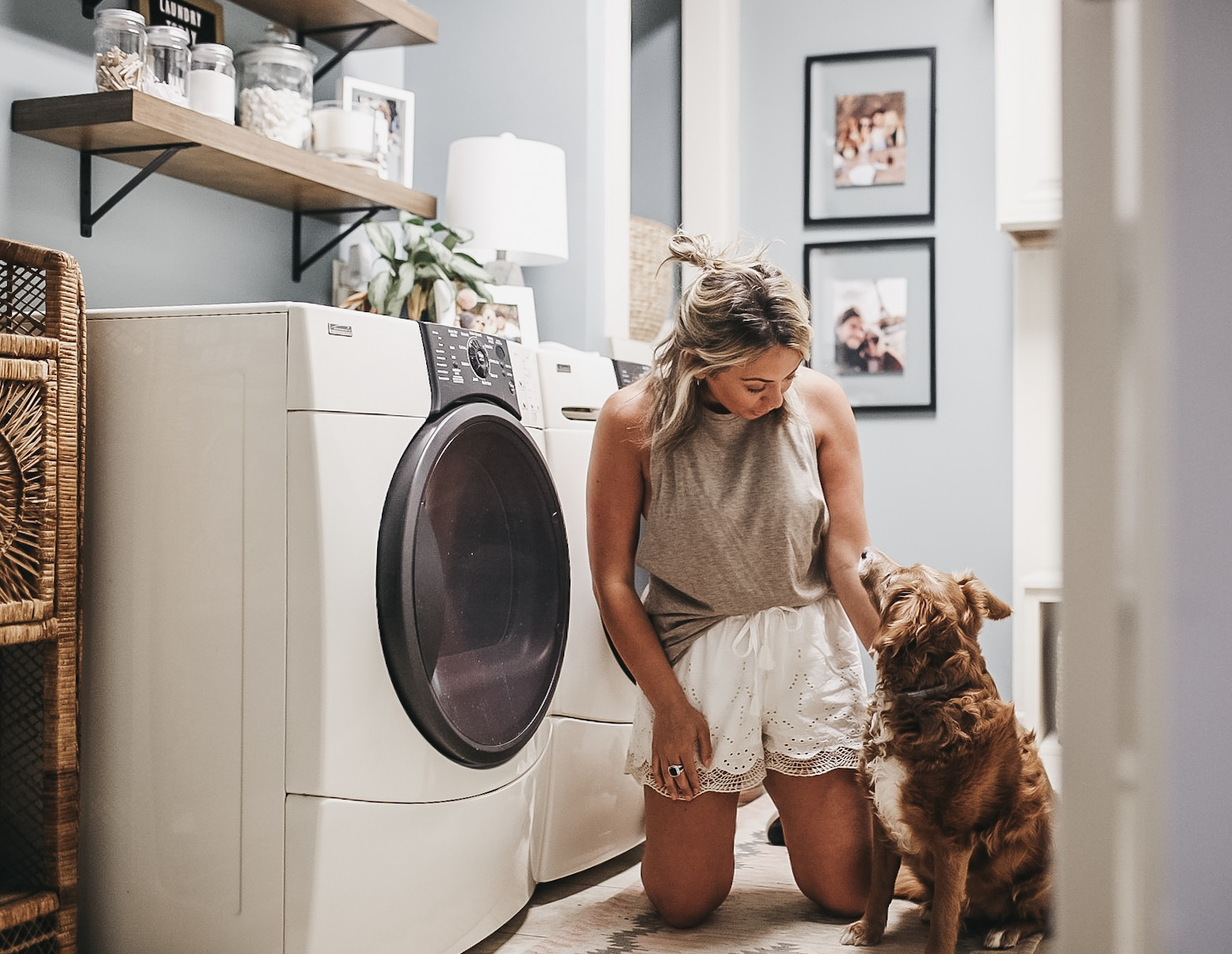 clean house with dogs