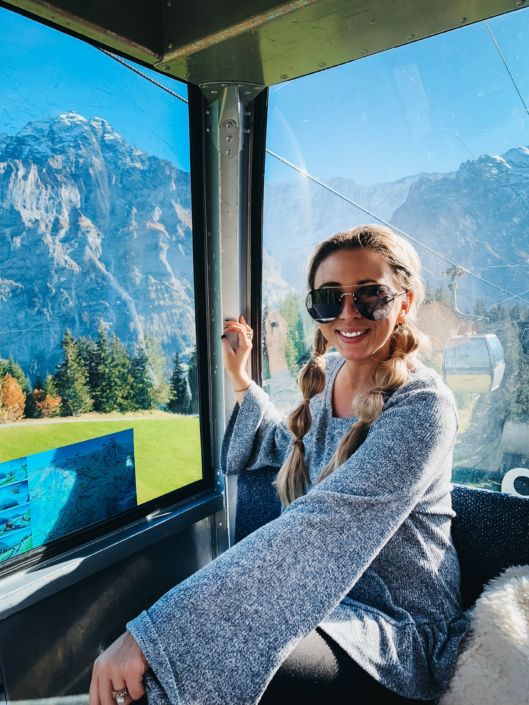road trip through Switzerland