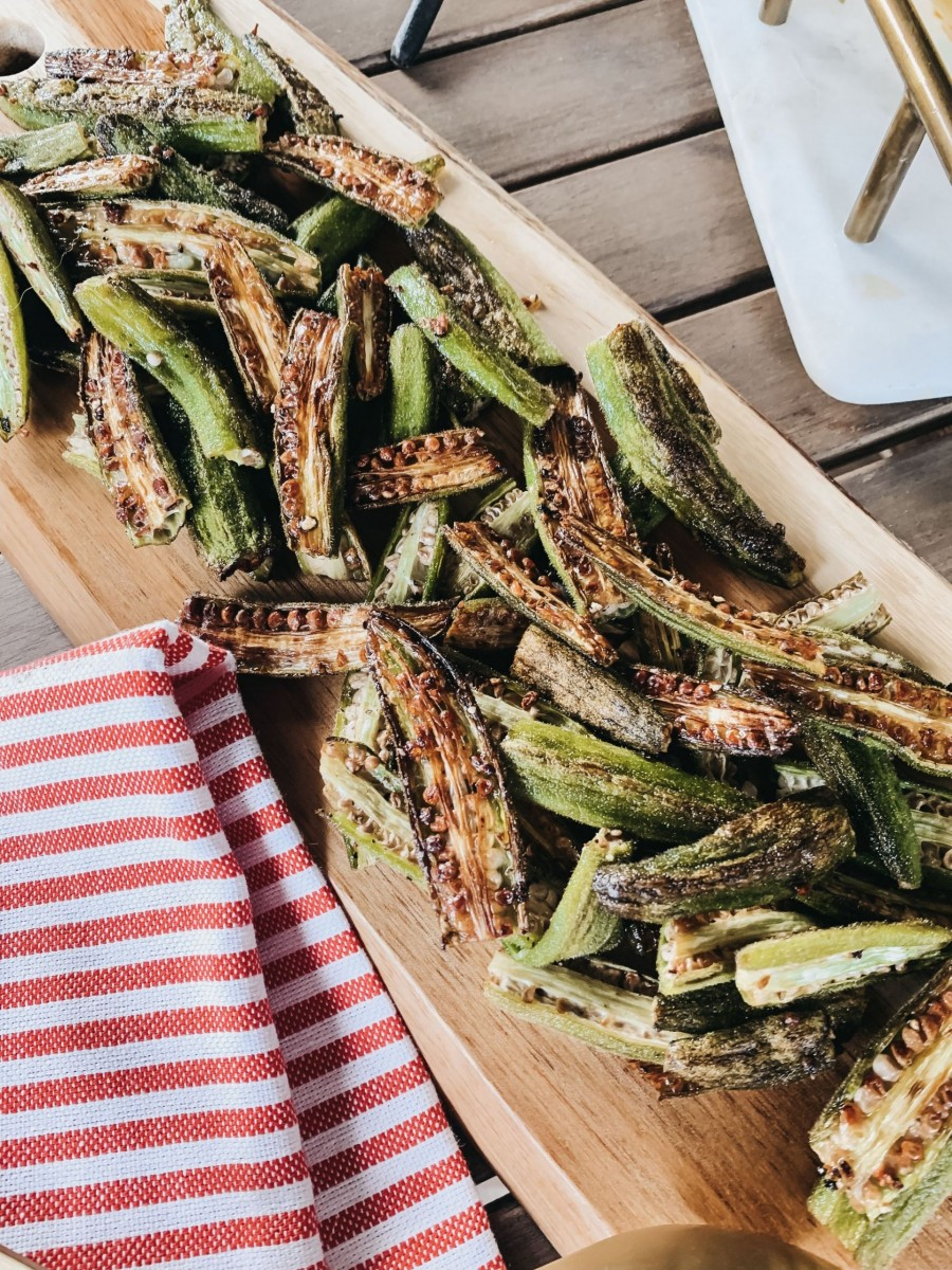 Crispy Roasted Okra: Easy, Healthy and Delicious