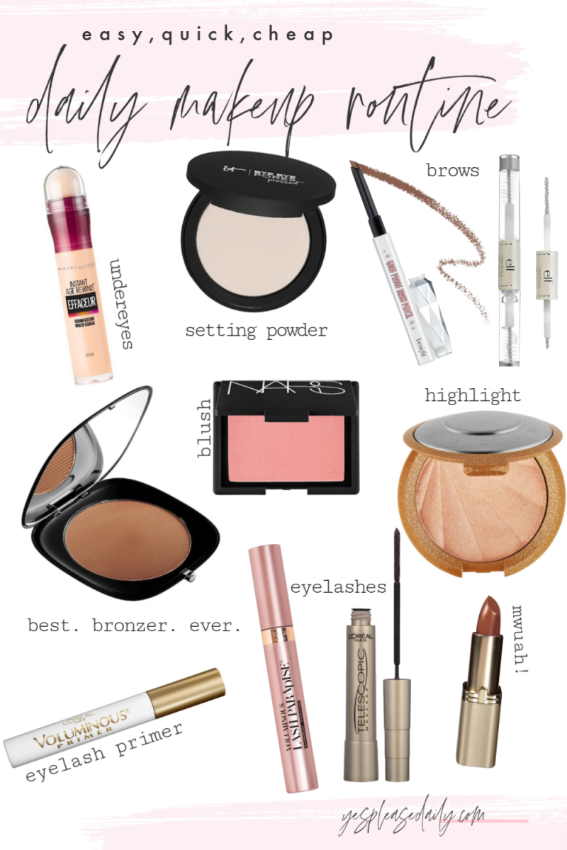 Daily Makeup Routine Easy Quick
