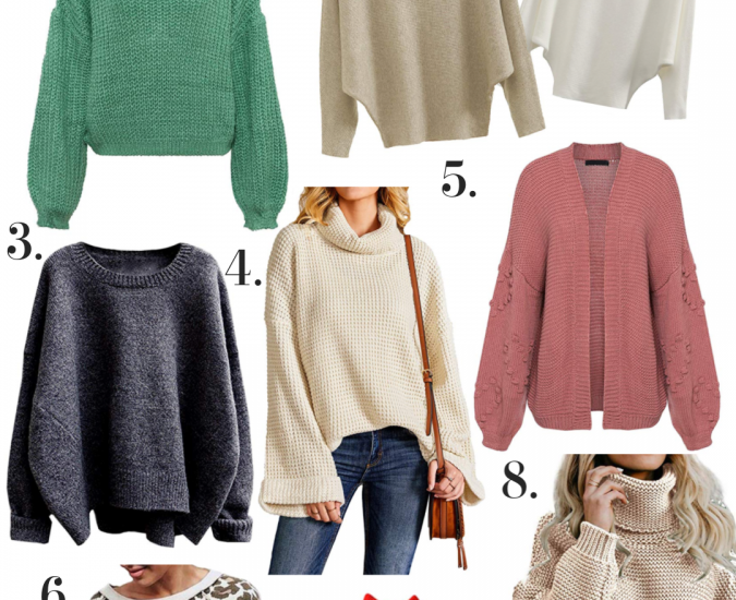 The Best Amazon Sweaters that I Own & Love