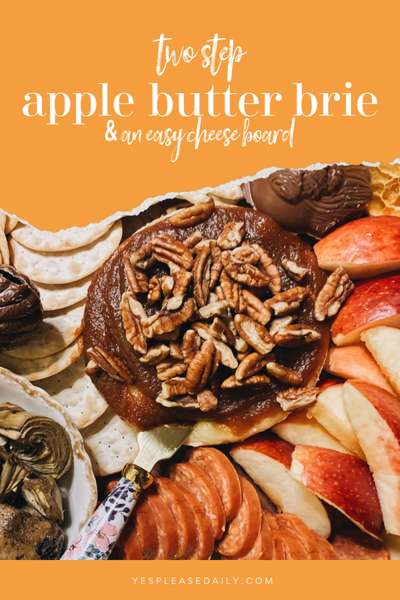 apple butter brie