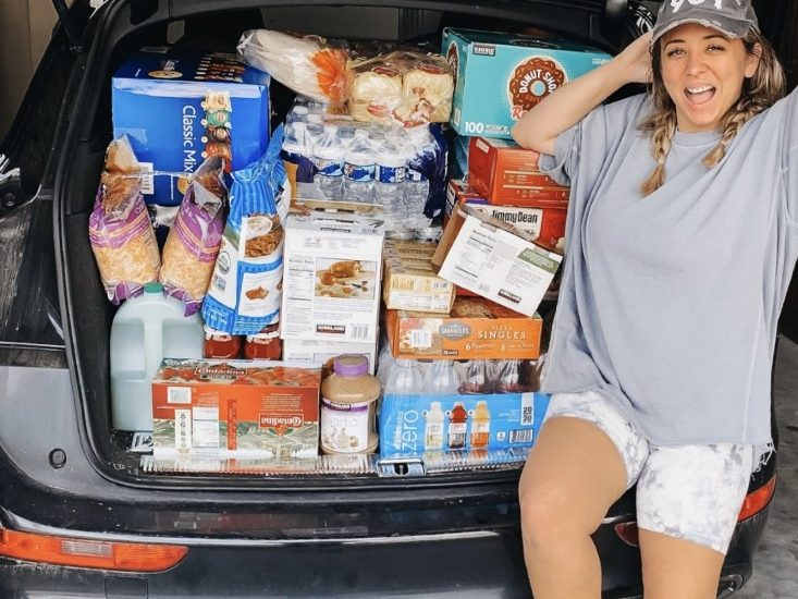 Costco Shopping for Small Families