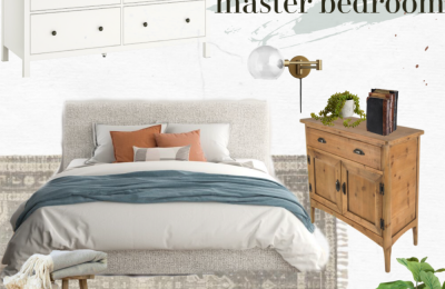modern farmhouse master bedroom makeover