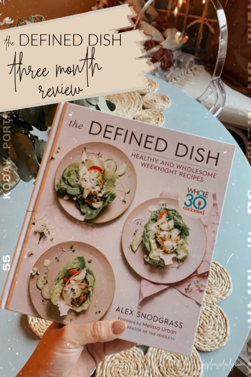 defined dish cookbook review